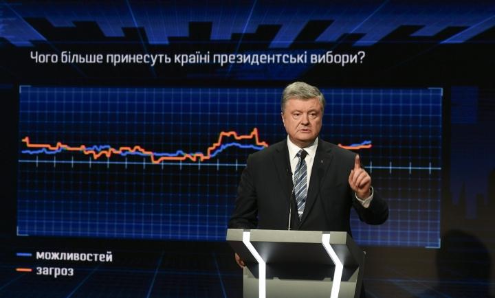 Интересы России совпадают с интересами определенных кандидатов и олигархов, – Порошенко