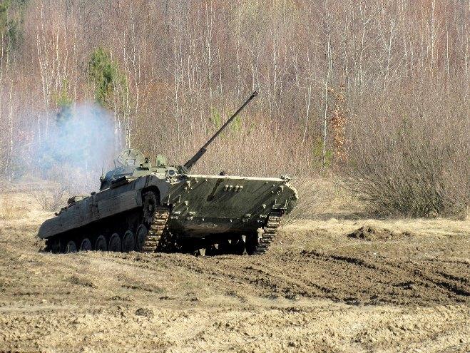 Військові ЗСУ і НАТО навчаються протистояти ворожій агресії