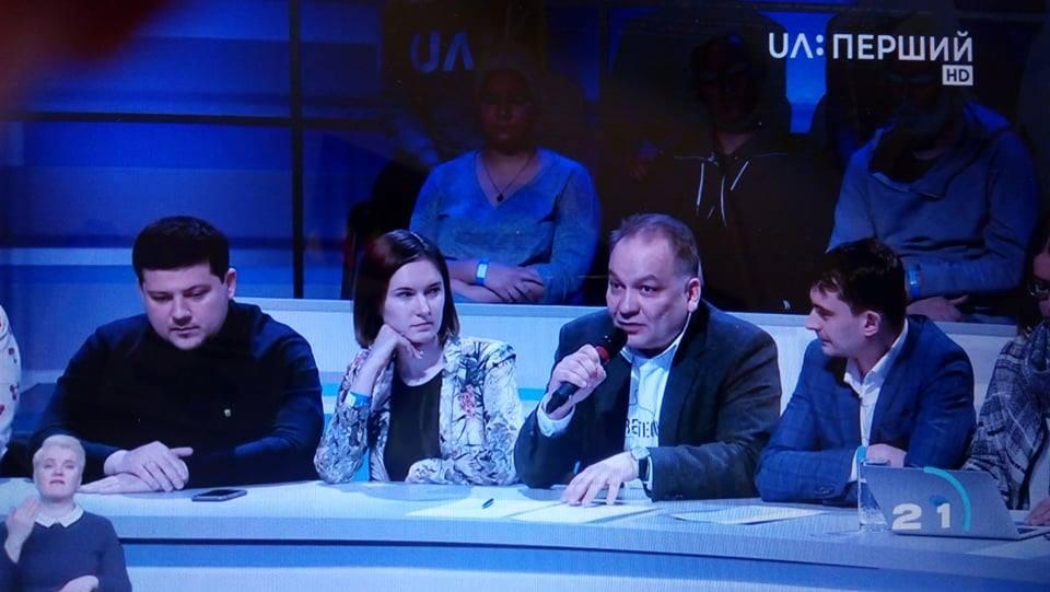 Сьогодні прийняли участь в теледебатах кандидатів у Президенти України