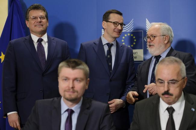 У Брюсселі підписали угоду на фінансування Baltic Pipe