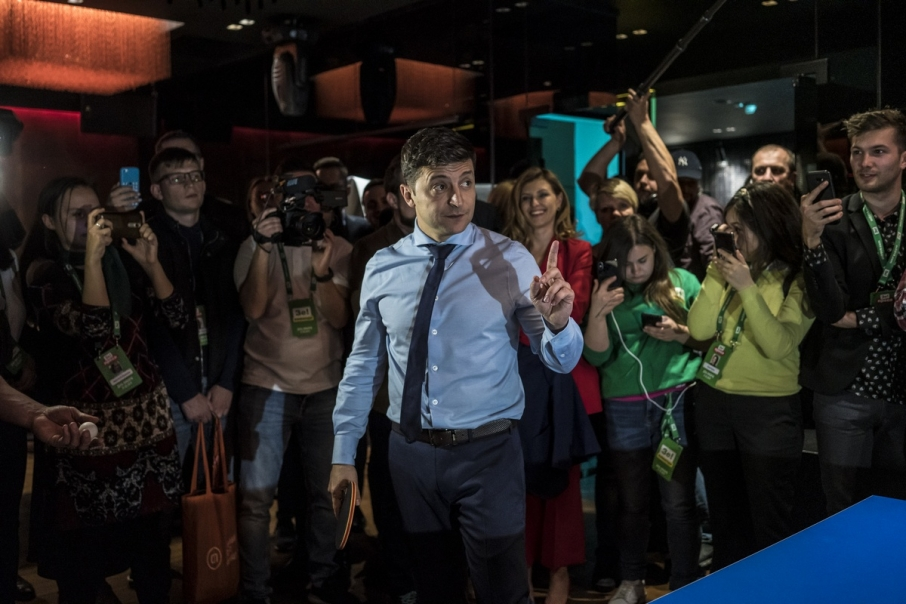 У Зеленского отказались от дебатов на Олимпийском среди зрителей