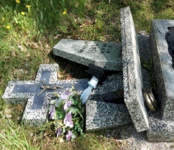 В Болеславці затримали двох вандалів, які нищили хрести на кладовищі