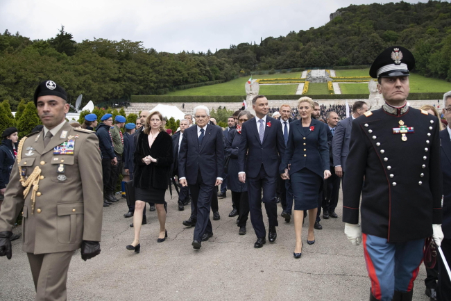 Президенти Польщі й Італії вшанували 75-річчя здобуття Монте-Кассіно