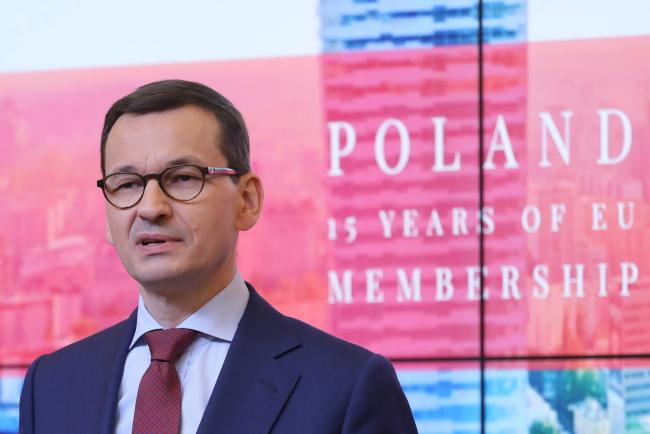 «Rzeczpospolita»: Європейська кампанія прем'єра