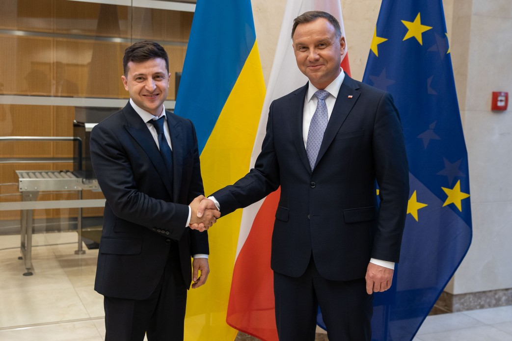 Ukraine is grateful to Poland for supporting its interests in the European Union and NATO-President