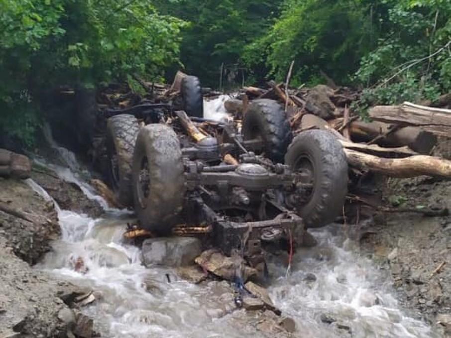 На Закарпатті через сходження селевого потоку загинули п'ятеро людей