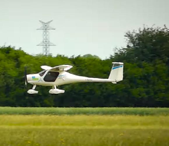 У Вроцлаві відбувся перший політ електричного літака (відео)