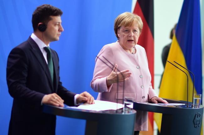 Меркель: Скасування санкцій за Крим після того, як він повернеться в Україну