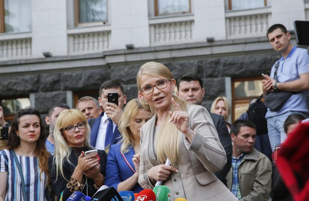 Юлія Тимошенко ініціює негайну заміну Генпрокурора і голови СБУ