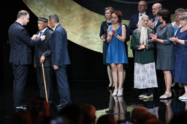 У Польщі вперше надали відзначення Virtus et Fraternitas