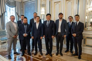 President of Ukraine had a meeting with CEO of Rakuten Hiroshi Mikitani