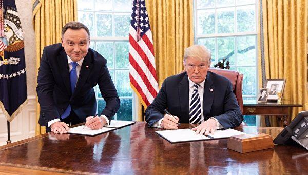 Трамп пообіцяв Польщі безвіз до Америки