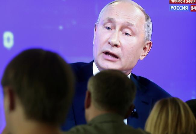 Владімір Путін заявив про «комплексний» обмін в'язнями