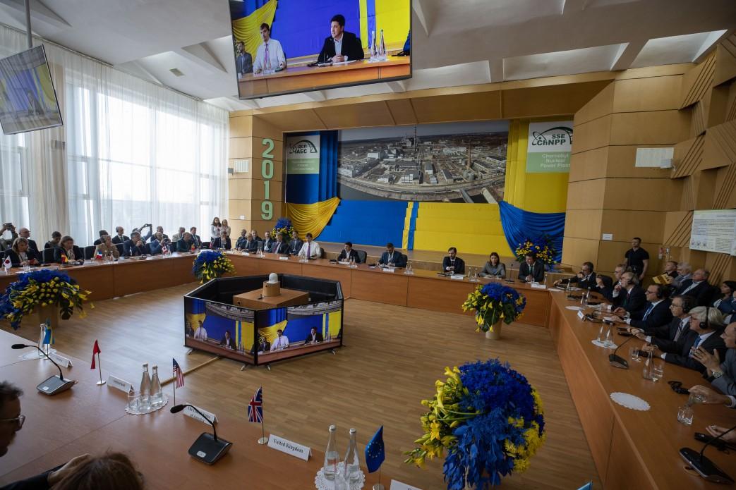 Глава держави підписав указ щодо розвитку Чорнобильської зони відчуження