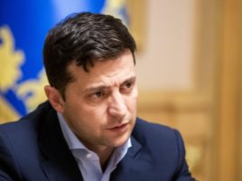 President of Ukraine Volodymyr Zelenskyy had a phone conversation with President of Russia V.Putin