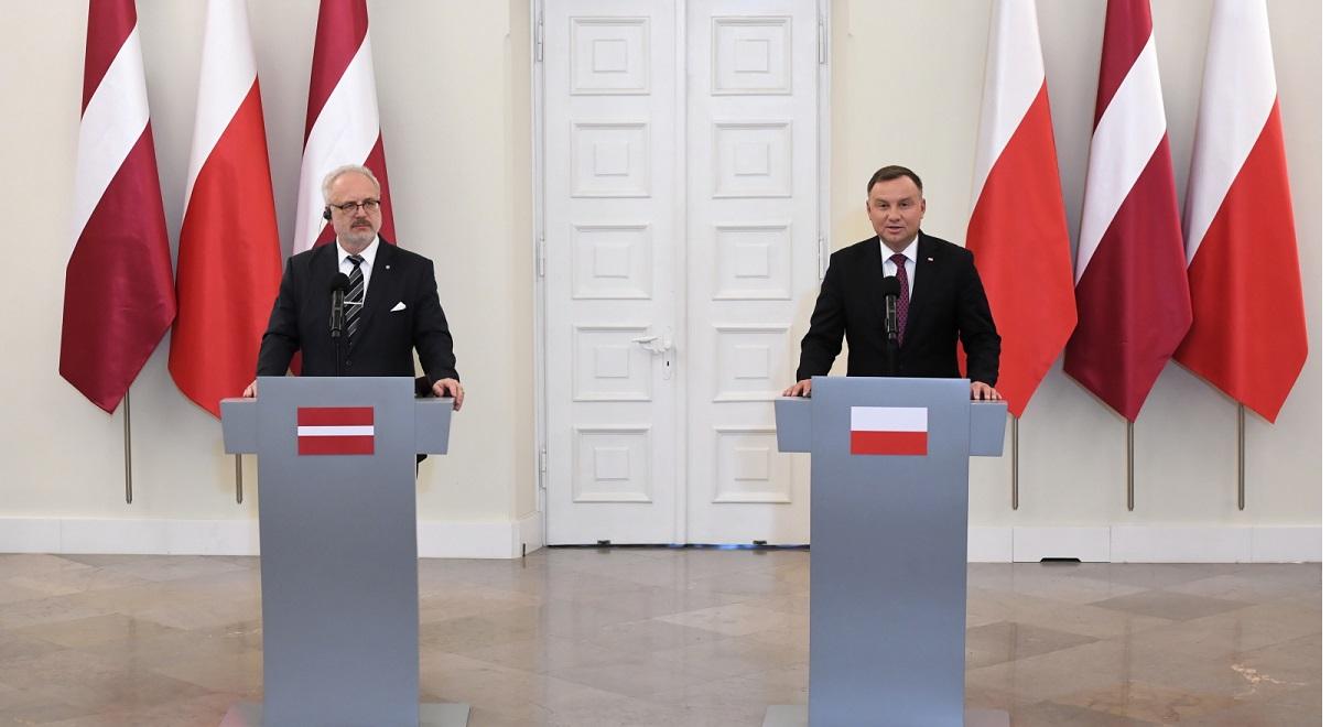 До Варшави приїхав президент Латвії
