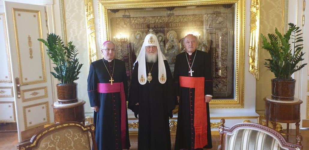 Кіріл прийняв у Москві польського кардинала