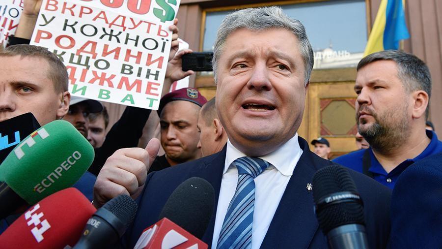 Петро Порошенко прокоментував свій допит у ДБР (відео)