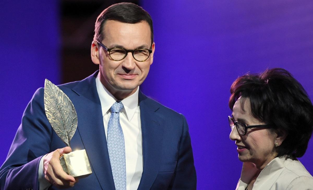 """Матеуш Моарвєцький став """"Людиною року"""" від Економічного форуму у Криниці"""