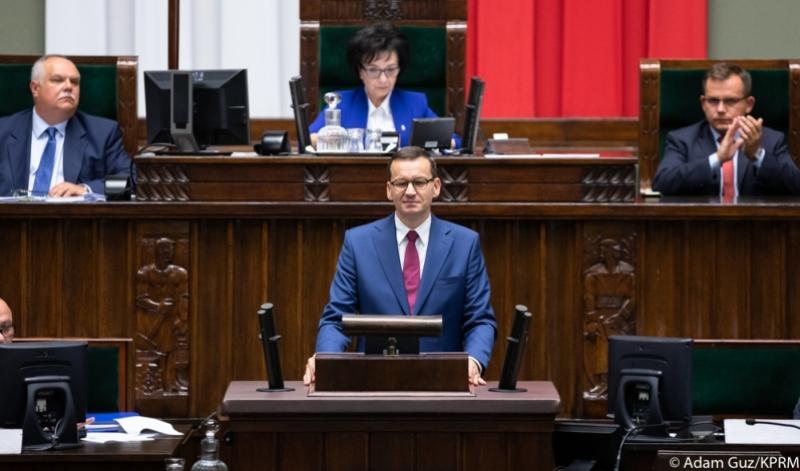 Прем'єр-міністр Польщі Матеуш Моравецький:«Зниження ПДФО пришвидшить будівництво середнього класу»