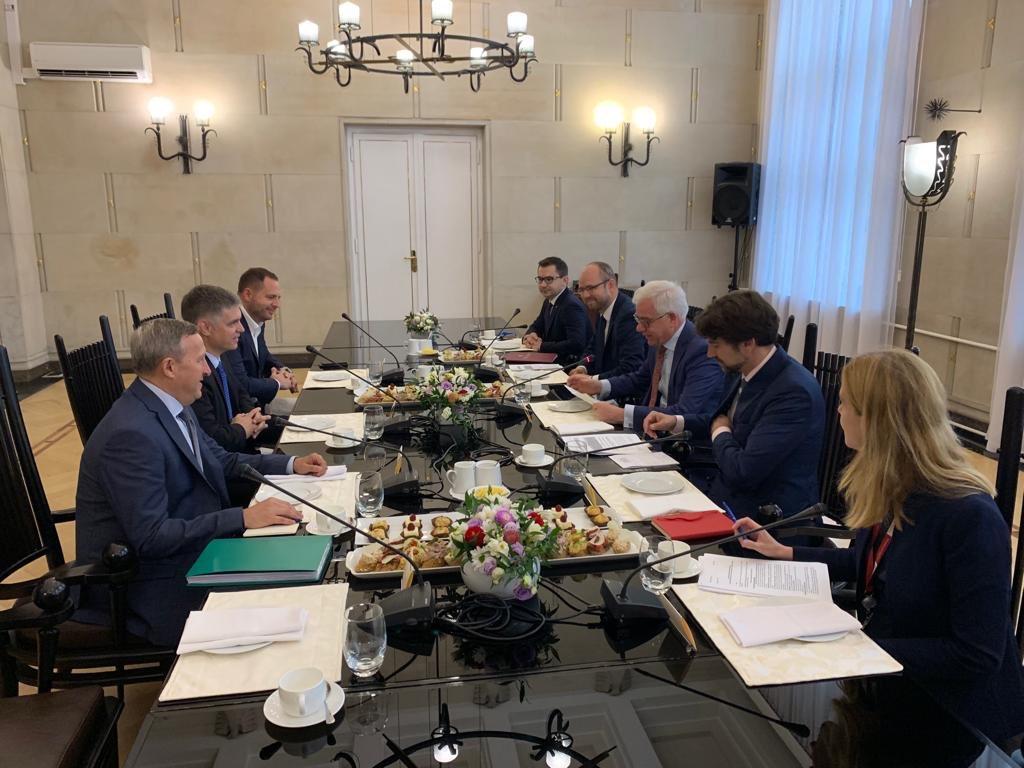 МЗС Польщі: Візит Зеленського надасть динаміки польсько-українським відносинам