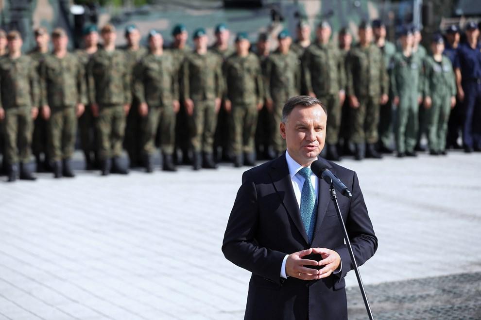 Анджей Дуда: Я хочу, аби польська зброя була якісною