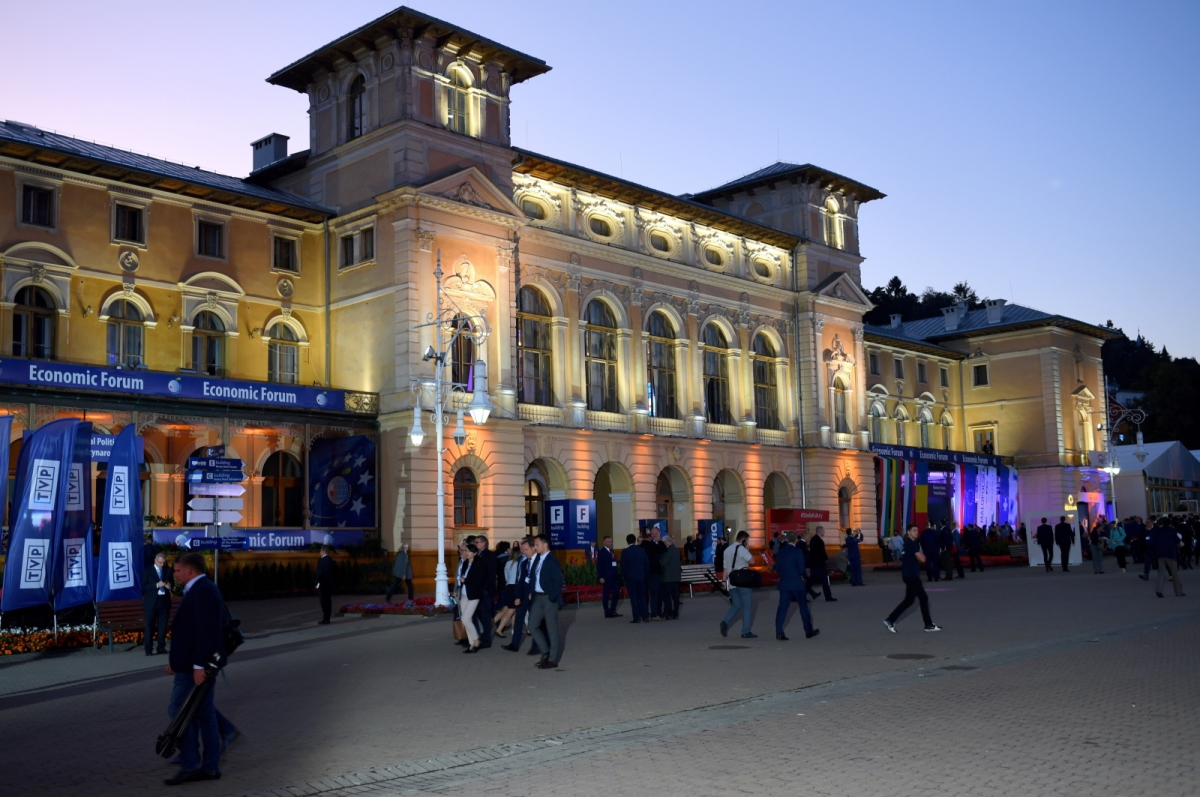 У Криниці закінчився 29 Економічний форум