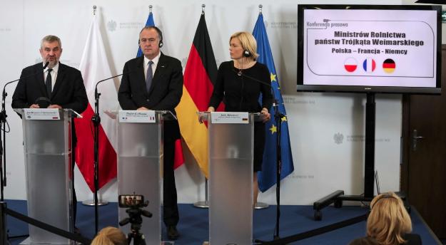 Веймарський трикутник проти зменшення бюджету на рільництво в ЄС