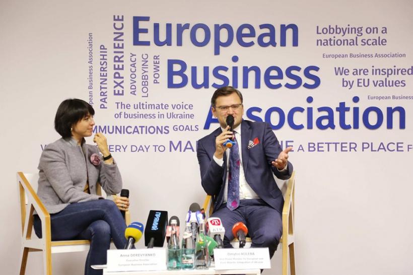 Промисловий безвіз відкриє для малого і середнього бізнесу нові обрії експорту до ЄС,–Дмитро Кулеба