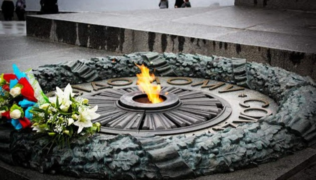 President took part in the ceremony of commemoration of the deceased