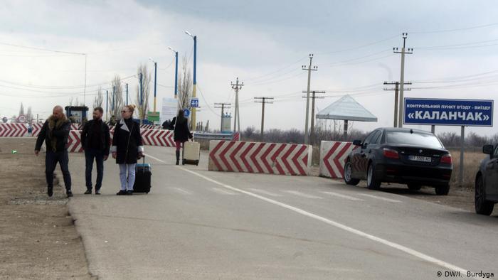 Українські прикордонники зранку припиняють пропуск громадян на «Каланчаку»