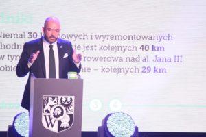 Рік президенства: Сутрик відзвітував за рік своєї роботи у Вроцлаві (фото)