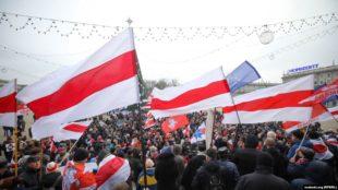 В Минске продолжается протест против «углубления интеграции» Беларуси и России