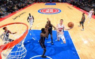 НБА. Михайлюк провел самый результативный матч в сезоне