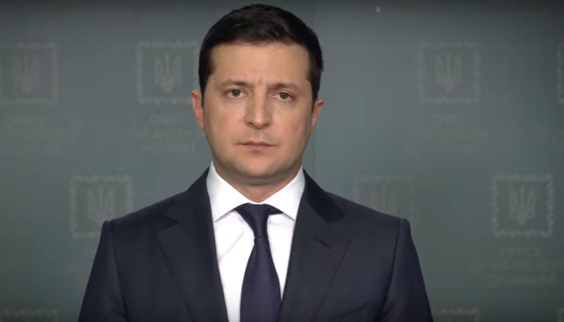 Обращение Президента Украины Владимира Зеленского в связи с катастрофой пассажирского самолета