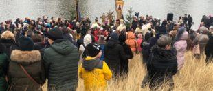 Українці у Польщі святкують Водохреще (фото та відео)