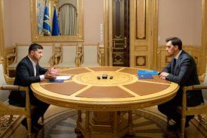 Президент України поставив перед урядом Олексія Гончарука низку невідкладних завдань