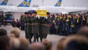 """У """"Борисполі"""" пройшла церемонія вшанування пам'яті загиблих в Ірані"""