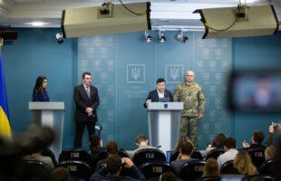 Президент Украины: Ситуация в зоне проведения ООС полностью контролируемая (видео)