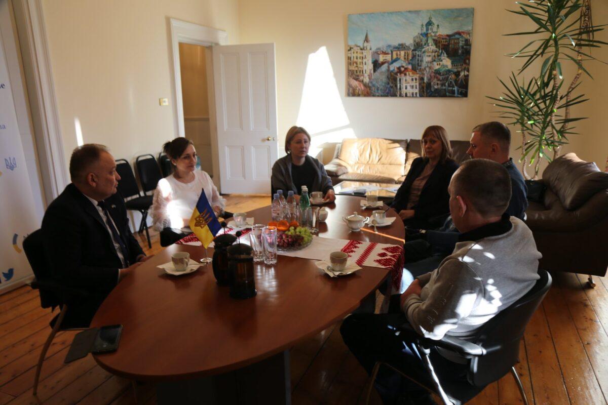 В Посольстве Украины в Ирландии состоялась встреча с Временным Поверенным по делам Украины в Ирландии Еленой Шалопут