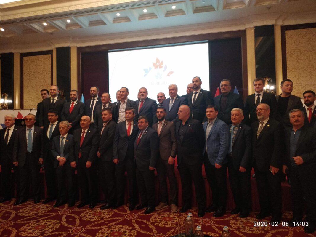 Урочисте відкриття міжнародної бізнес Асоціації кримськотатарських підприємців Туреччини, України та Румунії TURKSİD у Києві