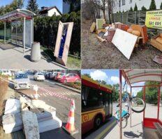 Труна на зупинці, холодильники — на тротуарі: ось що викидають на вулицю мешканці Варшави