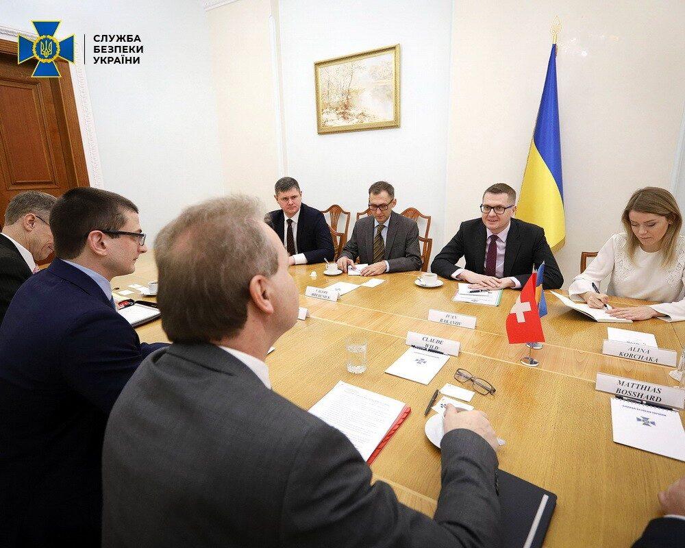 Голова СБУ та Посол Швейцарії в Україні обговорили подальшу співпрацю у безпековій сфері