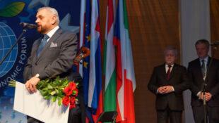 Wiera Meniok i prof. Stanisław Stępień laureatami nagrody Karpacka Europa Wspólnych Wartości
