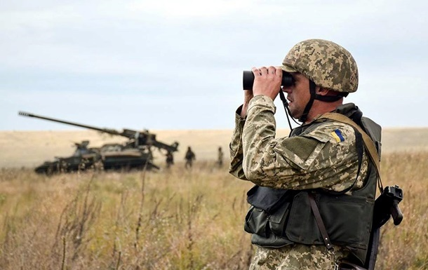 ООС: боевики девять раз обстреляли украинские позиции