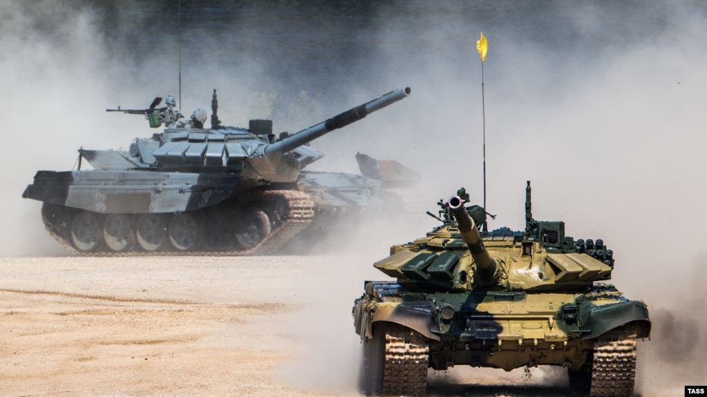 Несмотря на распространения коронавируса, в оккупированном Крыму провели очередные военные учения
