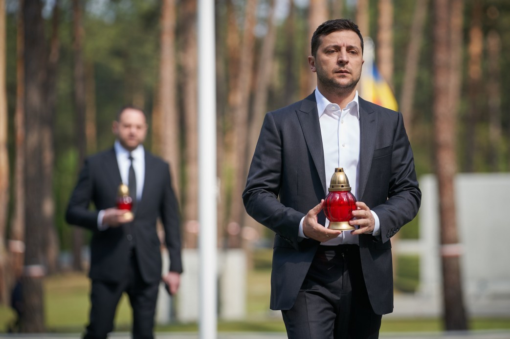 President paid tribute to the victims of political repressions