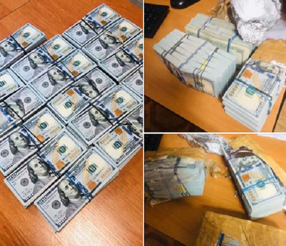 На кордоні затримали українця, який намагався вивезти з Польщі 160 тис. доларів у рюкзаку
