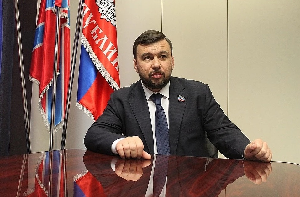 Finally, the first adequate steps have begun, the first sound decisions on the part of the Kremlin protege Pushilin!