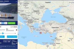 Порушення суверенітету України морським судном ISMAIL SENER під прапором Панами, який доставляє ільменитову руду до окупованого Криму